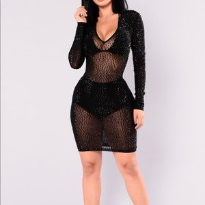 Dresses & Skirts - Black Crystal Dress